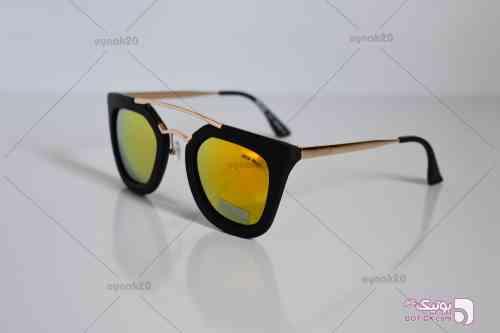 عینک آفتابی میومیو مدل M4016 مشکی کلاه
