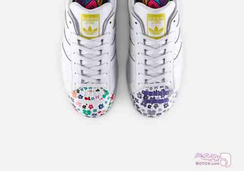 Adidas - Super Star سفید كتانی زنانه