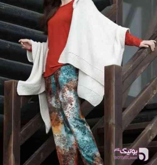 ست بلوز و شلوار و ژاکت ( سه تیکه ) مارک Missloren ترکیه  قرمز لباس راحتی زنانه