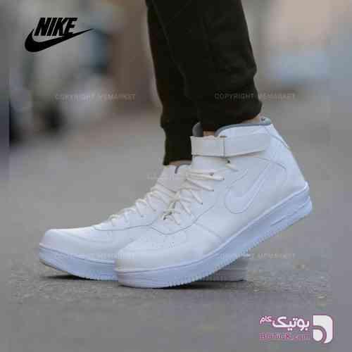 كفش ساقدارNIKEمدلFORCE(سفيد) سفید كفش مردانه