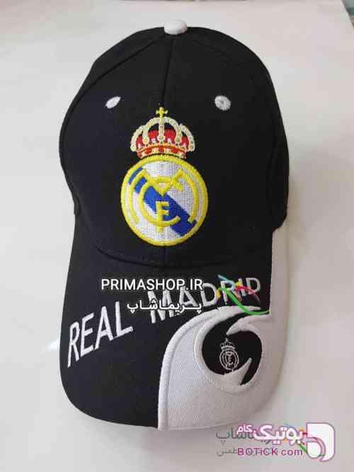 کلاه رئال مادرید اورجینال مشکی کلاه