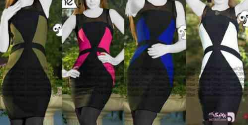 سارافون مدل لارا کد 214 مشکی لباس  مجلسی