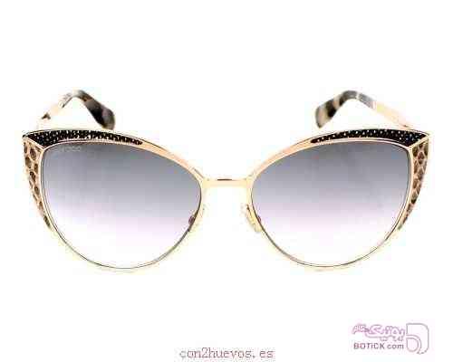 عینک آفتابی زنانه جیمی چو  jimmy choo طلایی عینک آفتابی