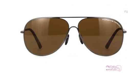 عینک آفتابی مردانه  پورشه دیزاین porsche design قهوه ای عینک آفتابی