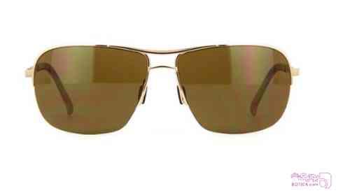 عینک آفتابی مردانه  پورشه دیزاین porsche design طلایی عینک آفتابی