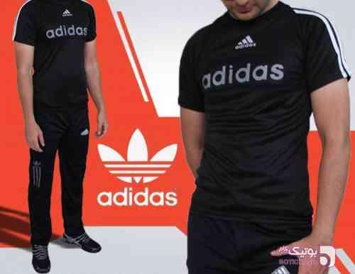 ست تیشرت و شلوار adidas Black مشکی ست ورزشی مردانه