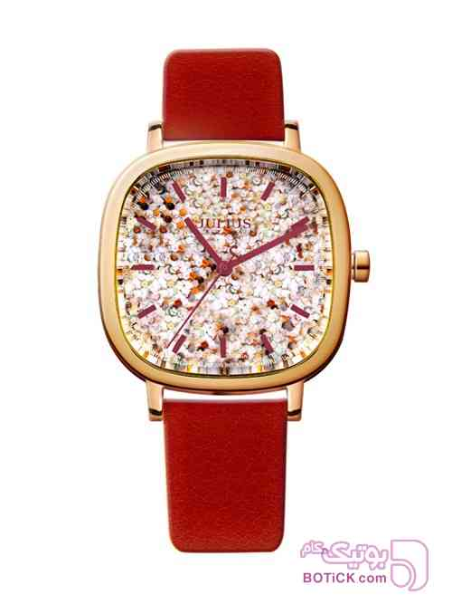 جولیوس JA-889D قرمز ساعت