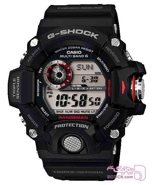 كاسيو جي-شاك GW-9400-1DR مشکی ساعت