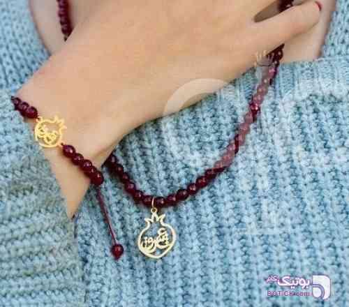 دستبند طلا و سنگ طلایی دستبند و پابند