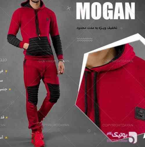 ست سویشرت و شلوار Mogan مشکی ست ورزشی مردانه