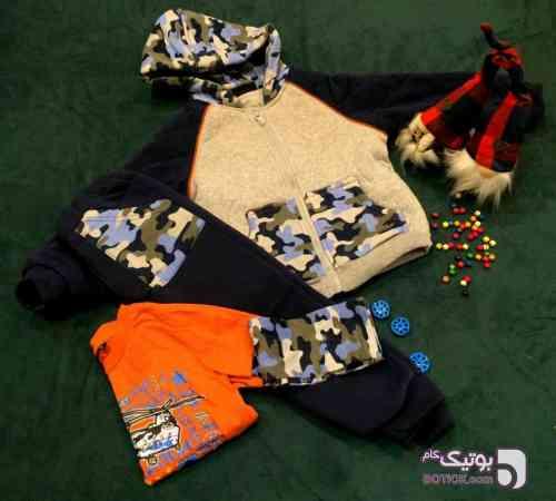 سه تیکه چیریکی مشکی لباس کودک پسرانه