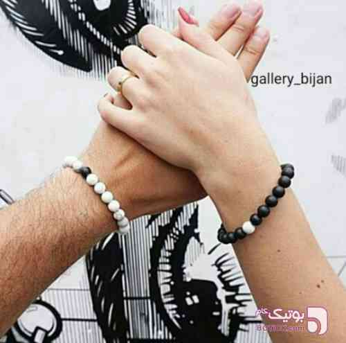 دستبند ست زوج مشکی دستبند و پابند