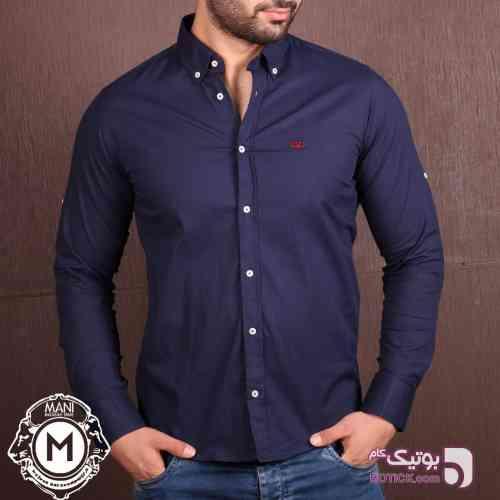 پیراهن مردانه VALENTINO  سورمه ای پيراهن مردانه