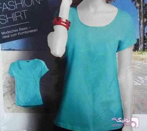 تيشرت آبی تی شرت زنانه