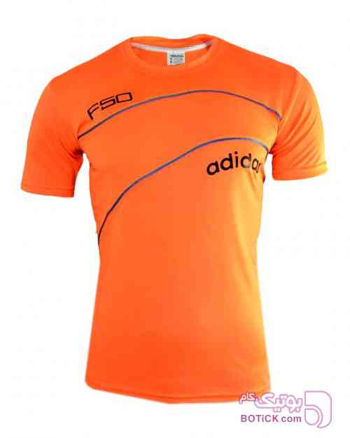 تیشرت ورزشی اسپرت نارنجی تی شرت مردانه