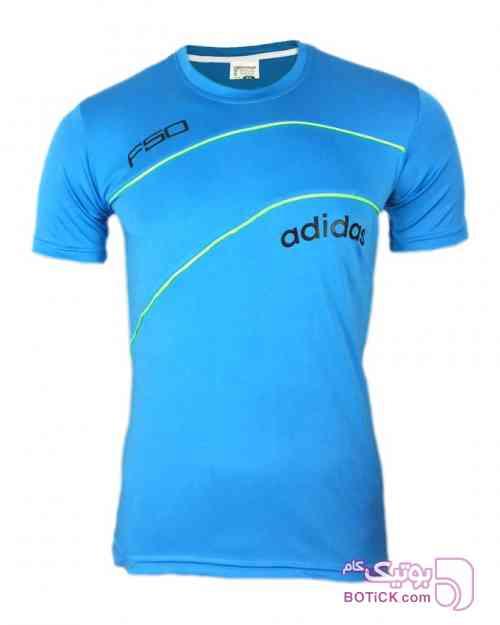 تیشرت ورزشی  آبی تی شرت مردانه