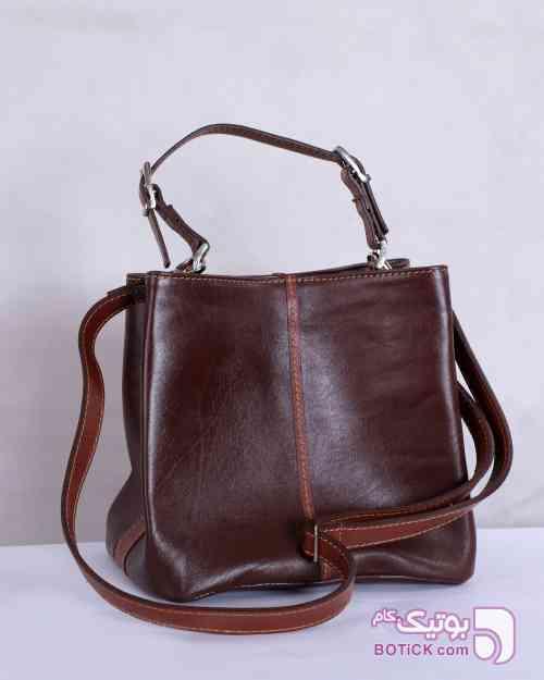 زانکو چرم کیف دستی زنانه  قهوه ای كيف زنانه