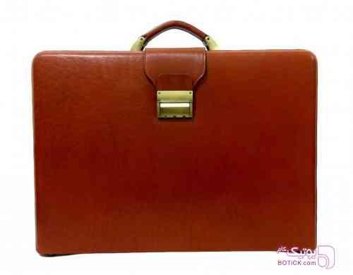 کیف تمام چرم سامسونت قهوه ای كيف مردانه