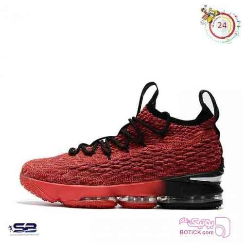 Nike Lebron 15 قرمز كتانی مردانه