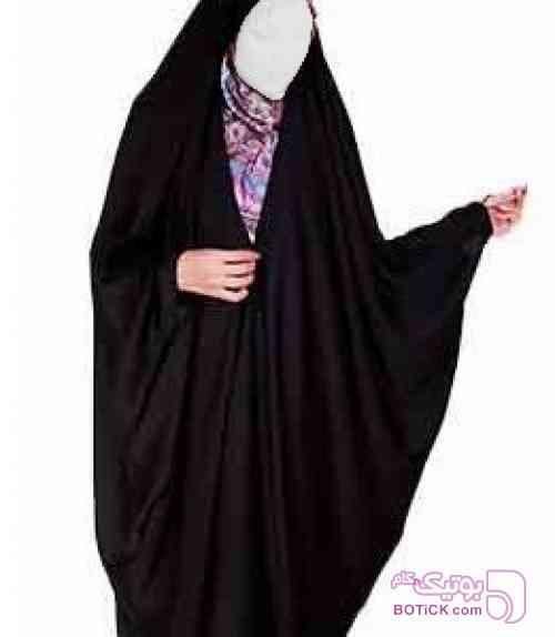 چادر عبایی جده بانو مشکی چادر و مقنعه