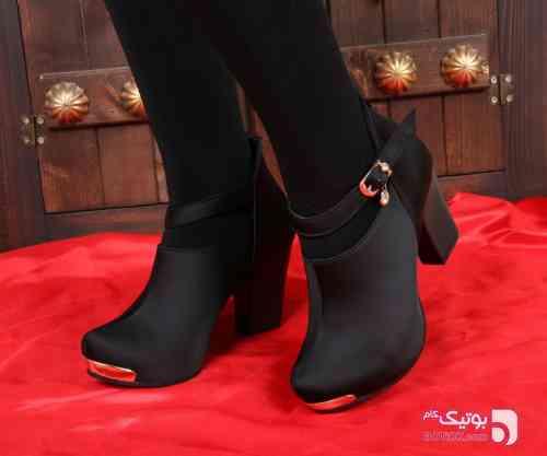 کفش پاشنه دار  آی سان مشکی كفش زنانه