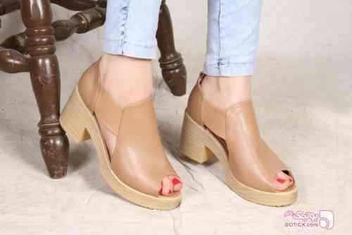 کفش زنانه مدل پارمیدا مشکی كفش زنانه
