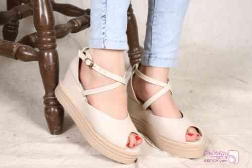 کفش زنانه مدل سارینا مشکی كفش زنانه