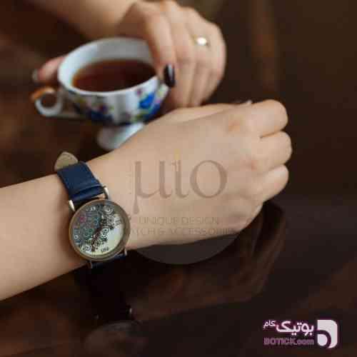ساعت مچی آبی ساعت