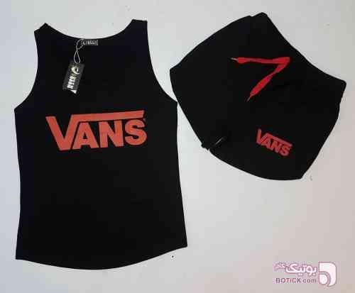 ست تاپ شرتک در ۲ طرح مشکی لباس راحتی مردانه
