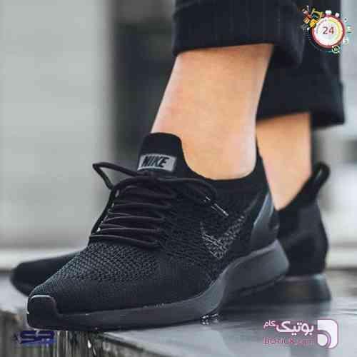 کفش Nike Flyknit Racer مشکی كتانی مردانه