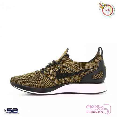 کفش Nike Flyknit Racer زرد كتانی مردانه
