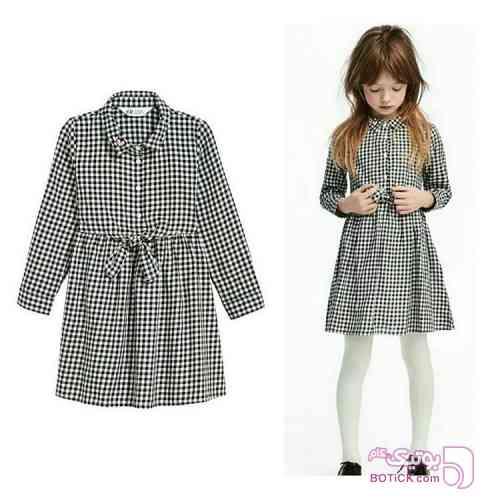 مانتوبهاره مشکی لباس کودک دخترانه