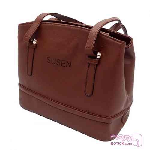 کیف دوشی زنانه susen قهوه ای قهوه ای كيف زنانه