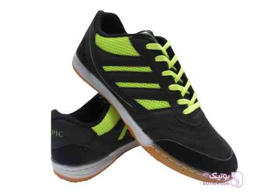 کفش سالنی فوتسال سبز کفش ورزشی