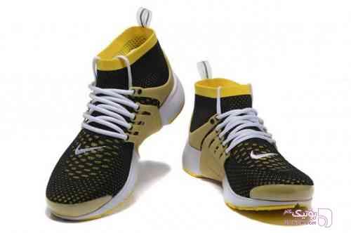 کفش کتانی زرد کفش ورزشی