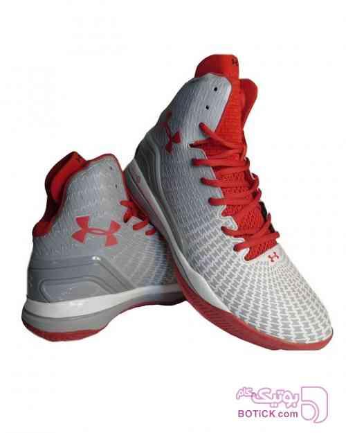 کفش بسکتبالی under armour قرمز کفش ورزشی