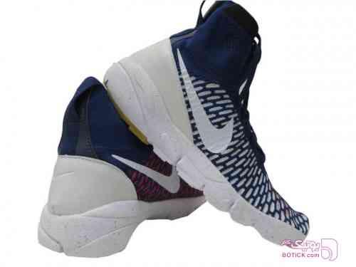 نایک ساقدار بسکتبالی آبی کفش ورزشی