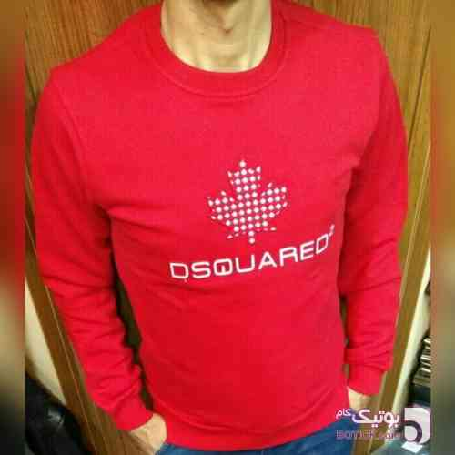 تیشرت اسپرت  دسکوارد قرمز تی شرت مردانه