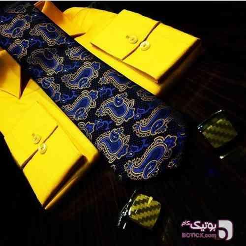 پیراهن مردانه زرد پيراهن مردانه