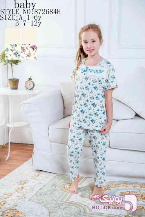 ست بچگانه سفید لباس کودک دخترانه