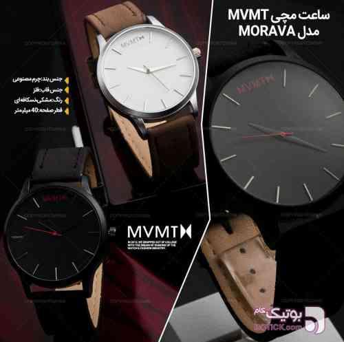 ساعت مچی MVMT  مشکی ساعت