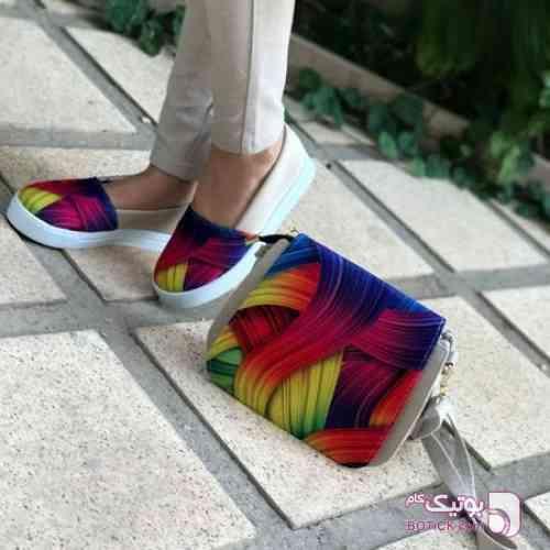کیف و کفش گیسو مشکی كفش مردانه