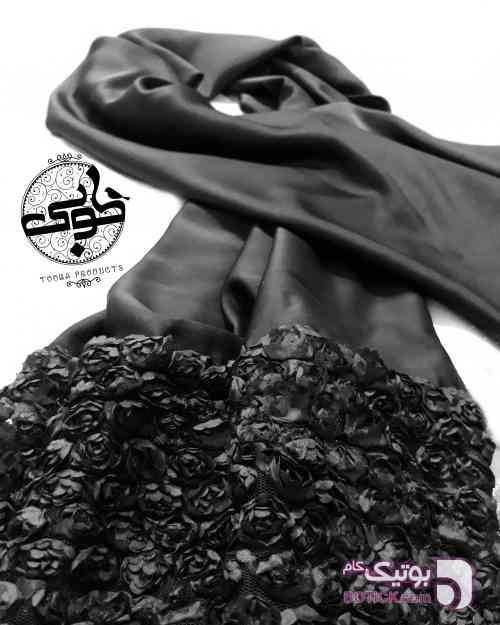 گلرخ مشکی شال و روسری