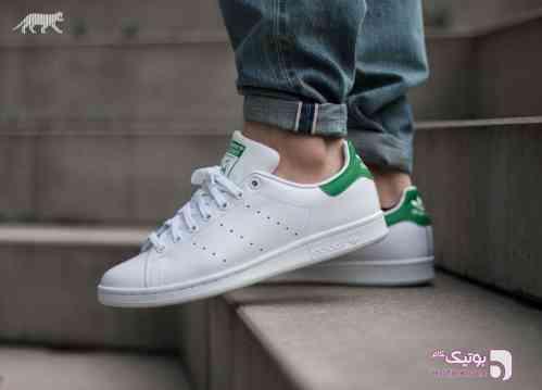 Adidas - Stan Smith سبز كتانی مردانه