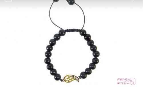 دستبند طلا 18 عیار زرد دستبند و پابند