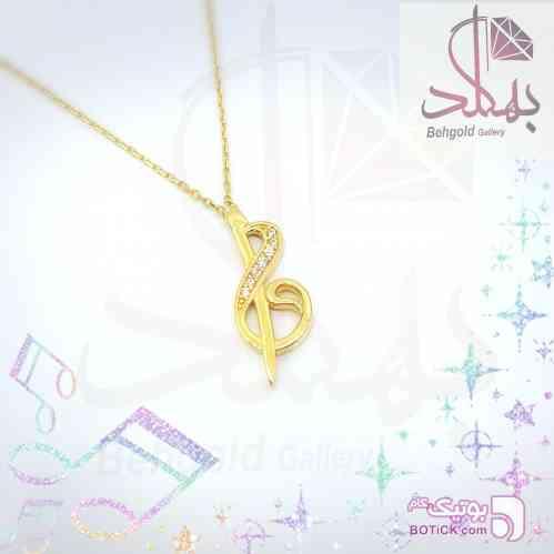 گردنبند طلا کلید سل طلایی گردنبند