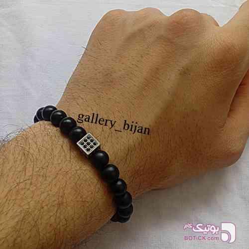 دستبند سنگ  مشکی دستبند و پابند