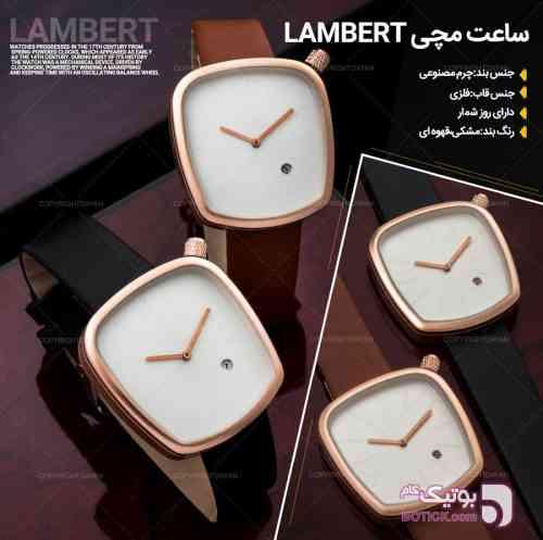 ساعت مچی Lambert مشکی ساعت
