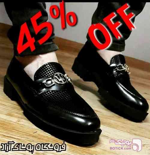 کفش شیک مردانه مشکی كفش مردانه