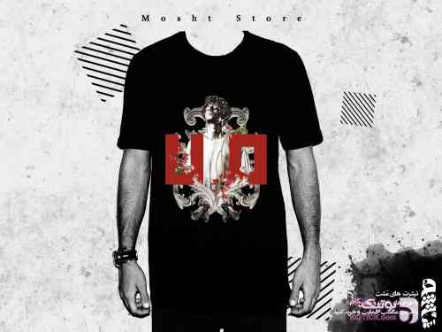 هفتاد مشکی تی شرت مردانه
